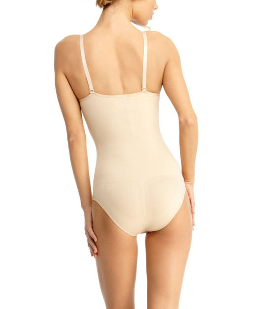 Body Suit With Brief Waist Cinchers - MeMoi - 2