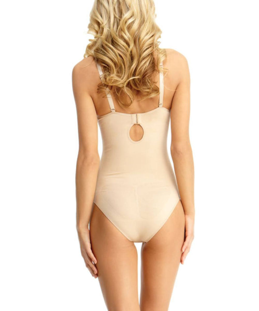 Bodysuit w/Brief Underwire Padded-Bra Waist Cinchers - MeMoi - 2