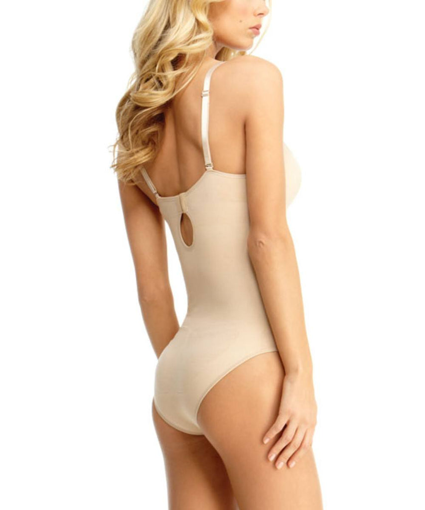 Bodysuit w/Brief Underwire Padded-Bra Waist Cinchers - MeMoi - 4