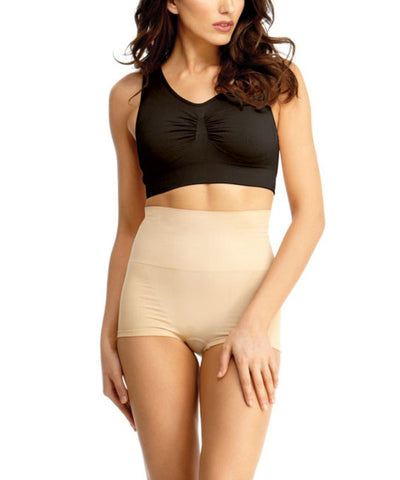 Women's Seamless High Waist Slimming Compression Capri Shaper