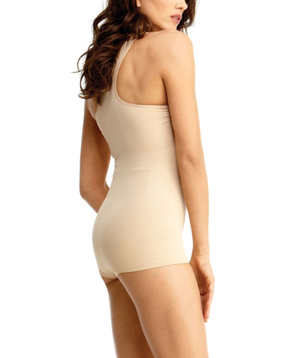 Sports Shaping Tank Waist Cinchers - MeMoi -Shapewear- Nude-