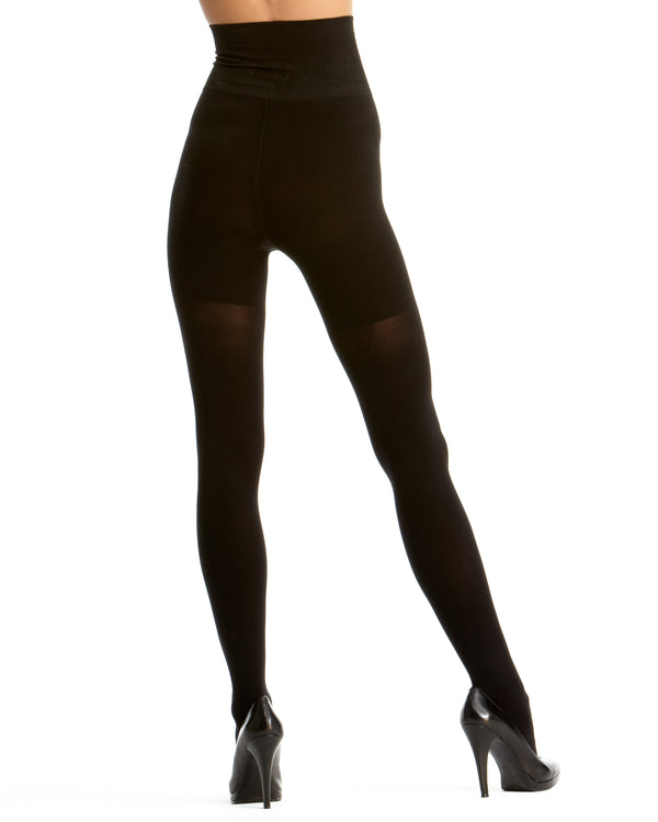 KillerFigure Opaque Shaping Tights | Pantyhose - Hosiery - Nylons for women | Black MST-900 2