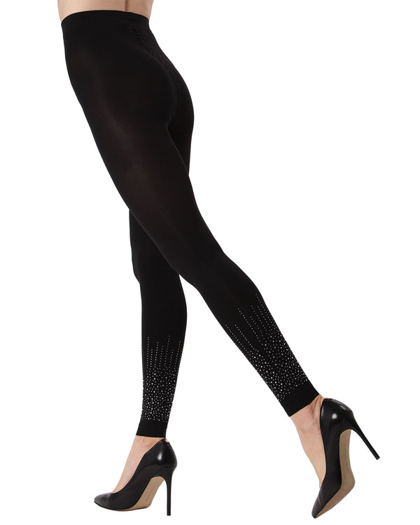 36a5acb19 MeMoi Starburst Footless Tights | Women's Fashion Hosiery - Pantyhose -  Nylons Collection (Side1) ...