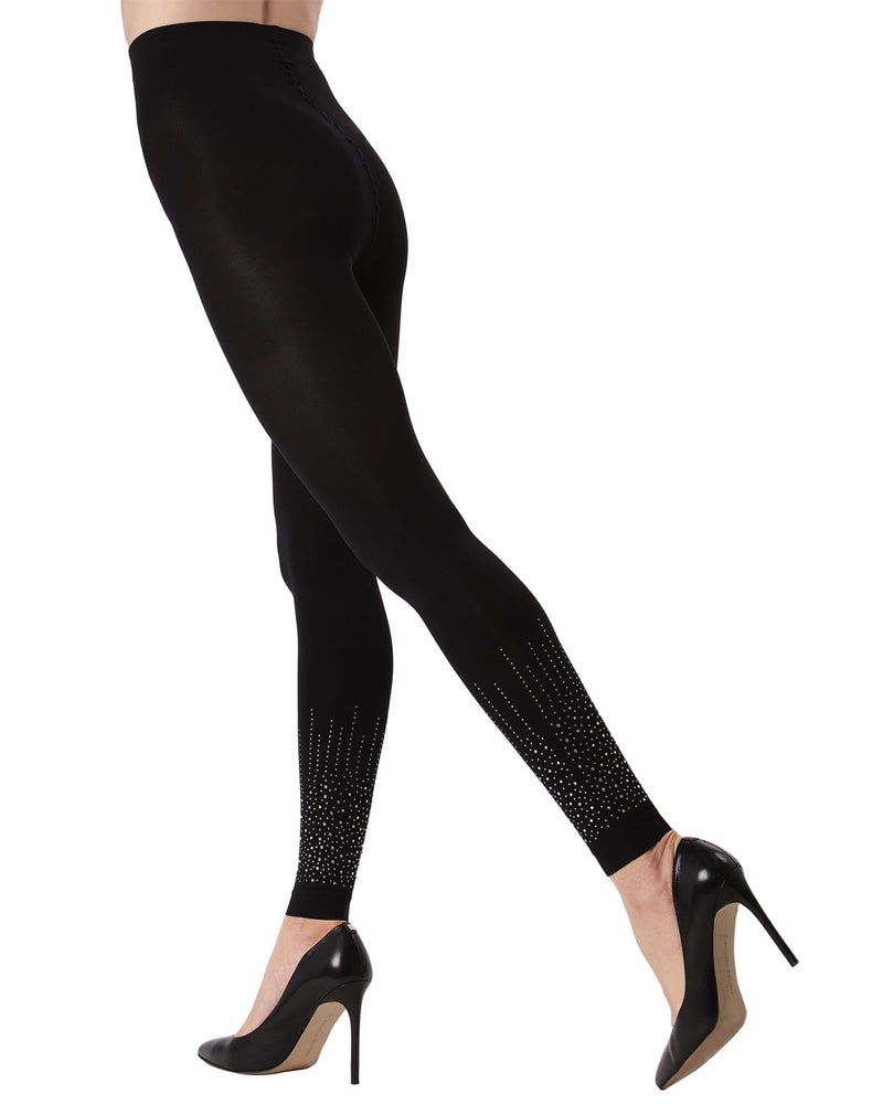 MeMoi Starburst Footless Tights