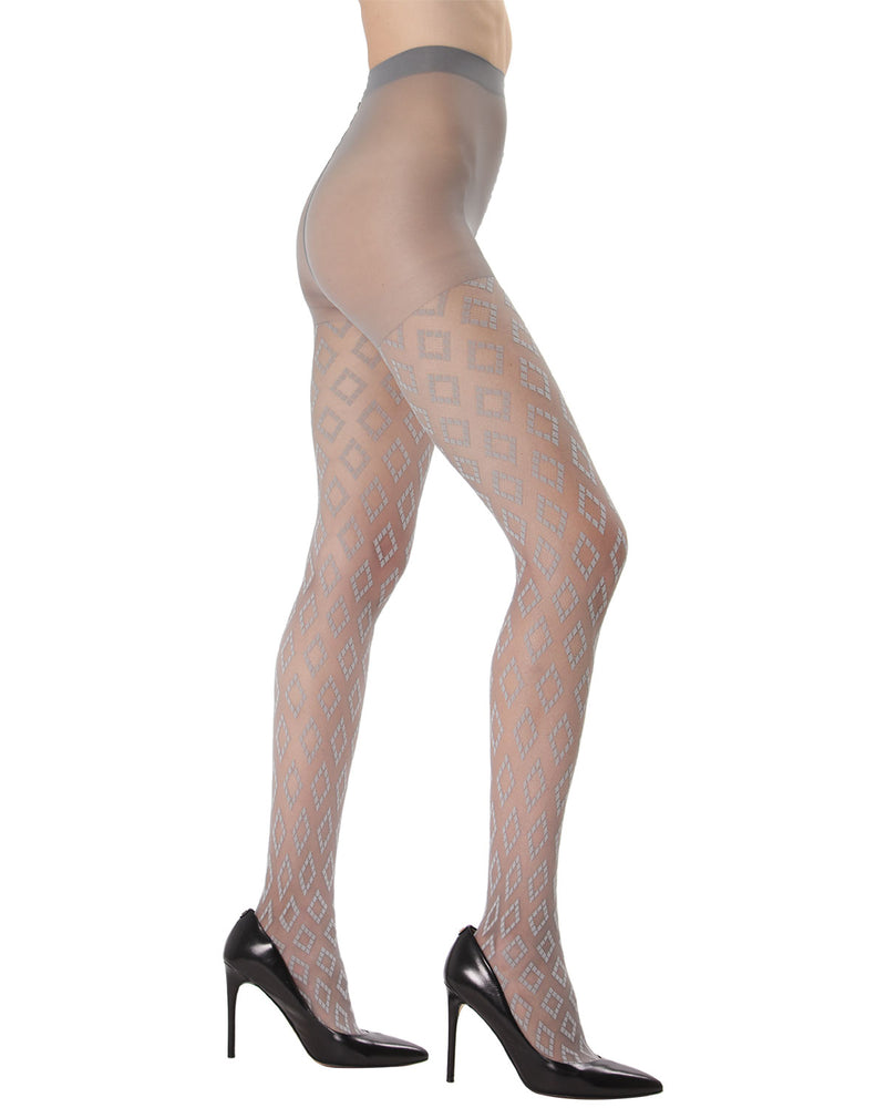 Diamond Down Sheer Tights