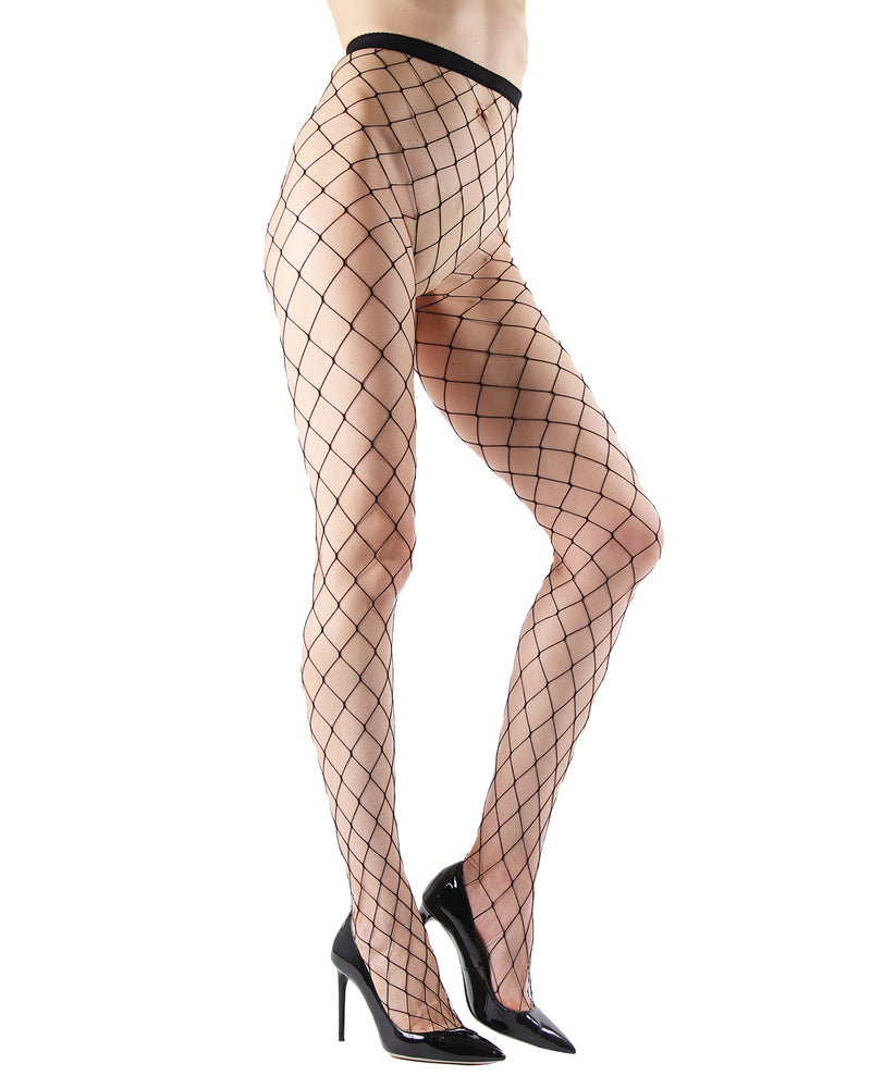 MeMoi Extreme Fishnet Tights