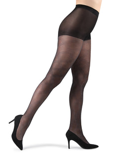Statement Shimmer Sheer Tights| Tights by MeMoi | MTF05365 | Black