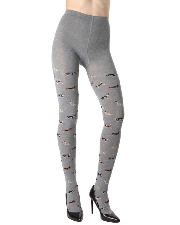 Dog Walker Sweater Tights
