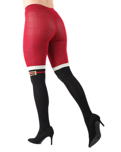 Santa Claus Boots Sweater Tights