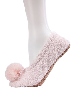 MeMoi Shimmering Non-slip Soft Touch Slippers | Slippers for Women/girls | Pink MFW-000091