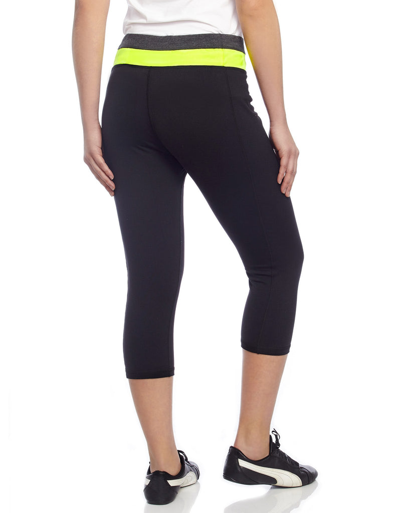 Heather Mix Athletic Yoga Capri Legging - MeMoi - 3
