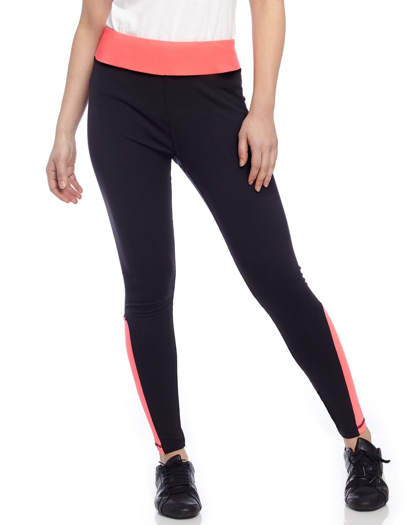 Neon Track Athletic Leggings - MeMoi - 3