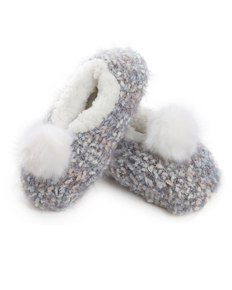 Plush Lined Knit Slipper