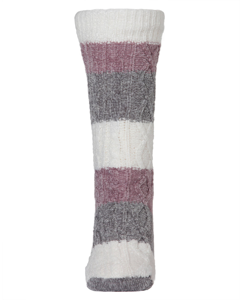 Tranquility Plush Lined Slipper Sock