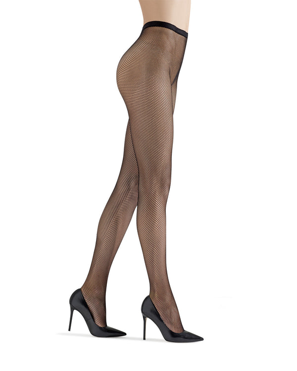 Classic Fishnet Stockings | Women's Fishnet Tights by MeMoi® | Hosiery - Pantyhose - Nylons | Black MM-634
