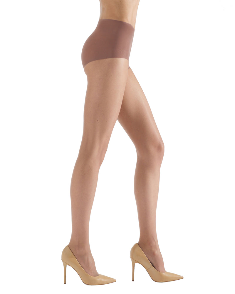 Ultra Bare Sheer Control Top Hosiery | womens sheer tights by Natori | womens clothing | Nat-614 Honey