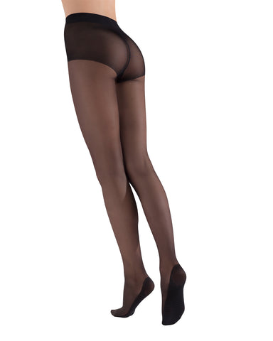 Massaging Sheer Stockings| womens sheer tights by Natori | womens clothing | Nat-624 black