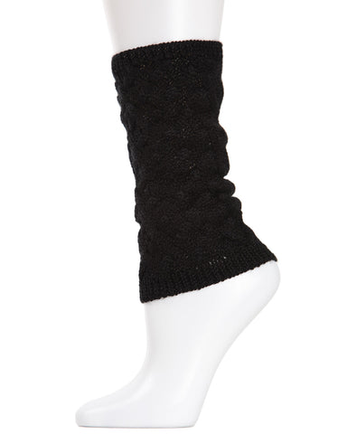 Entwined Lattice Wool-blend Boot Toppers