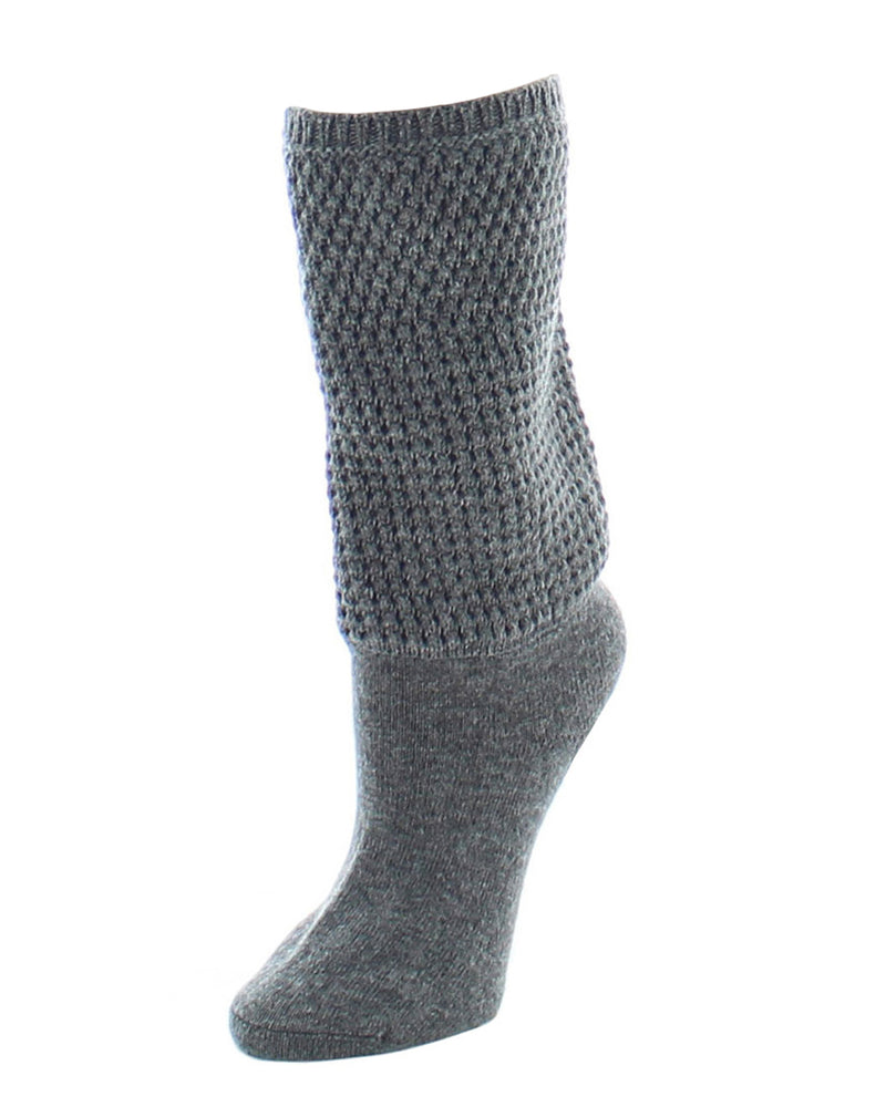 Natori Women's Wool-blend Boot Topper Socks