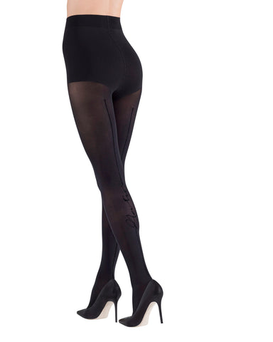 Natori Signature Backseam Opaque Women's Tights