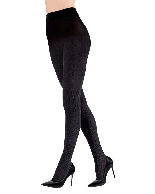 Ethereal Textured Opaque Women's Tights