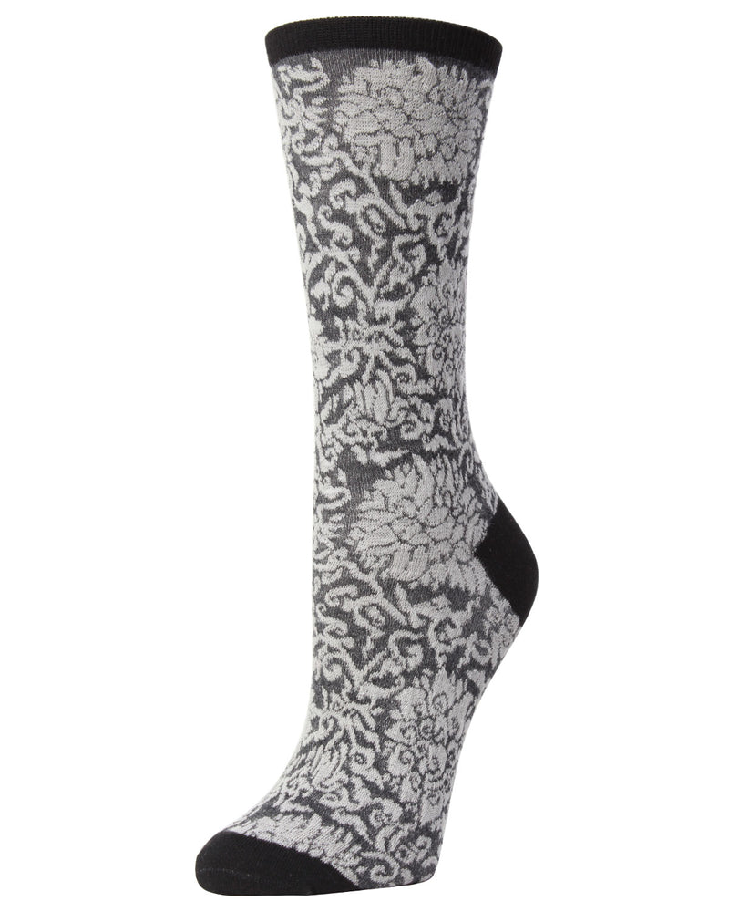 Fields of Chi Cotton Blend Crew Socks