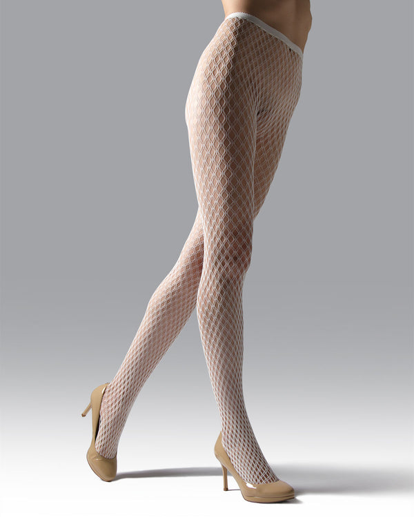 Double Weave Fishnet Tights