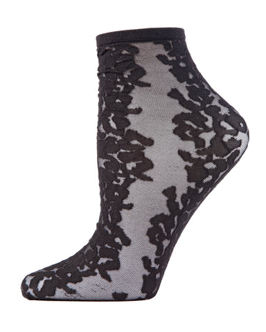 Animal Women's Sheer Shortie Socks