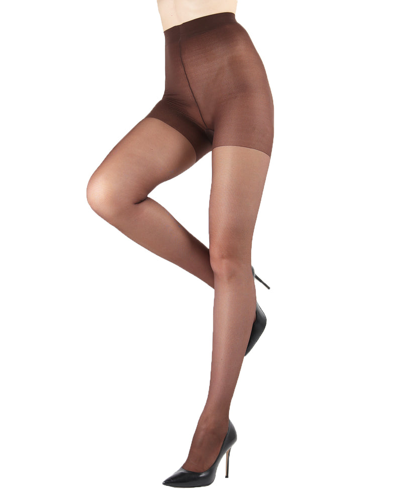 Relax Firm Sheer Support Pantyhose | Women's Tights by Levante -5