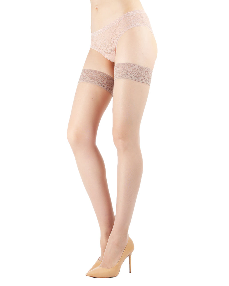 Levante Women's Sheer Thigh Highs