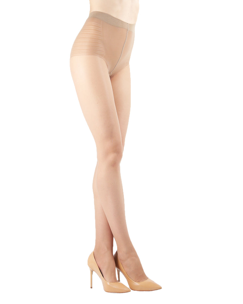 Sheer Low Waist Bikini Brief Tights | Sheer Tights by Levante® | SHEER LTW  | Naturel