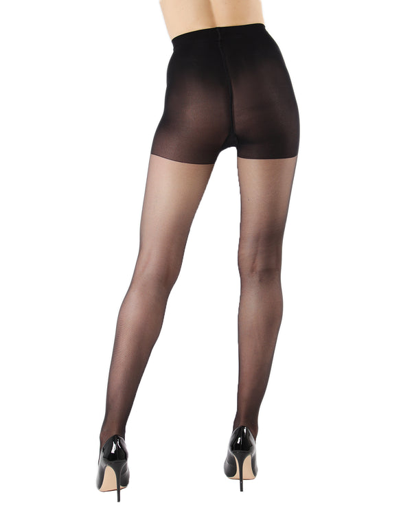 Silk Caresse Sheer Control Top Pantyhose | Women's Tights by Levante -2