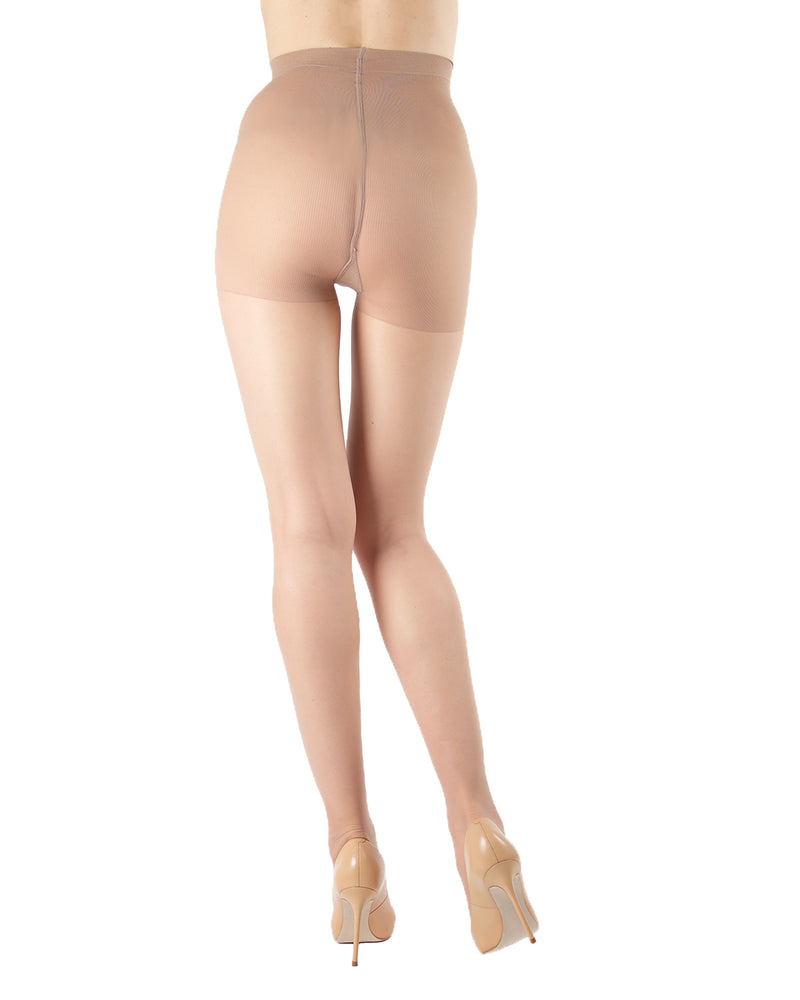 Silk Caresse Sheer Control Top Pantyhose | Women's Tights by Levante -4