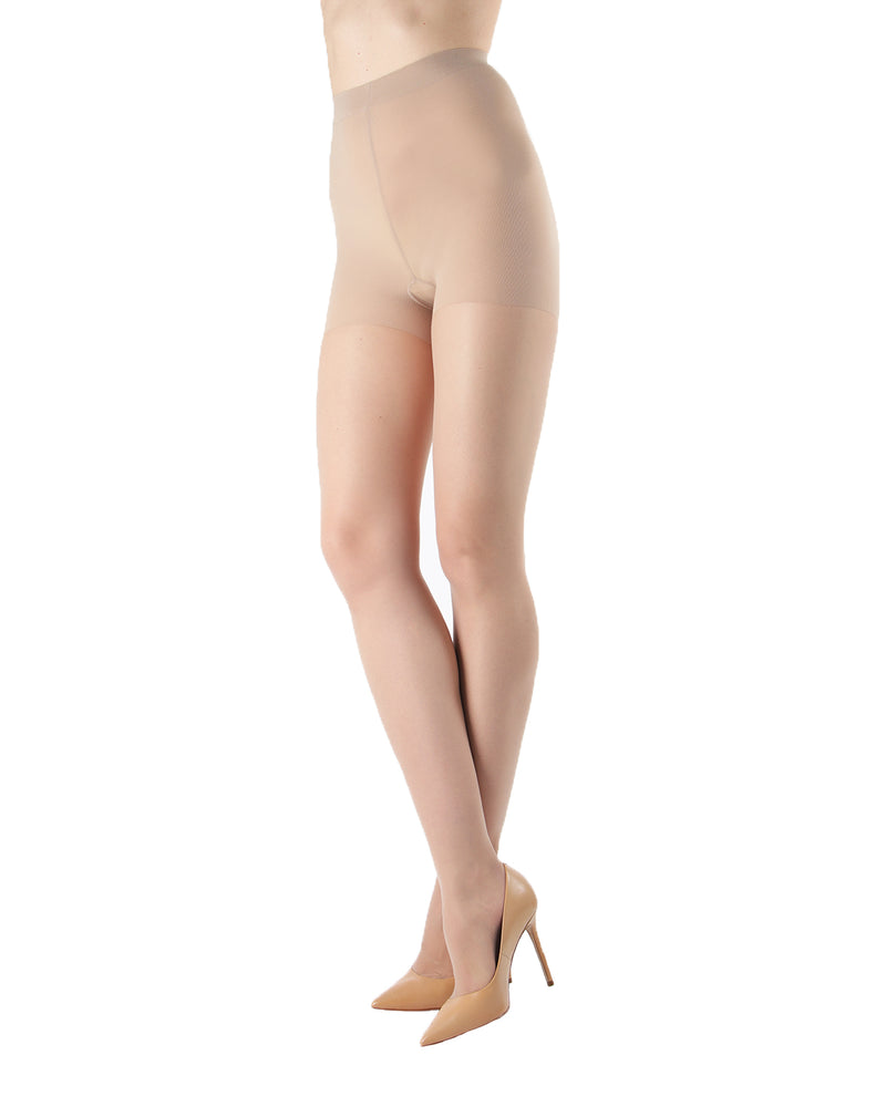 Silk Caresse Sheer Control Top Pantyhose | Women's Tights by Levante -5