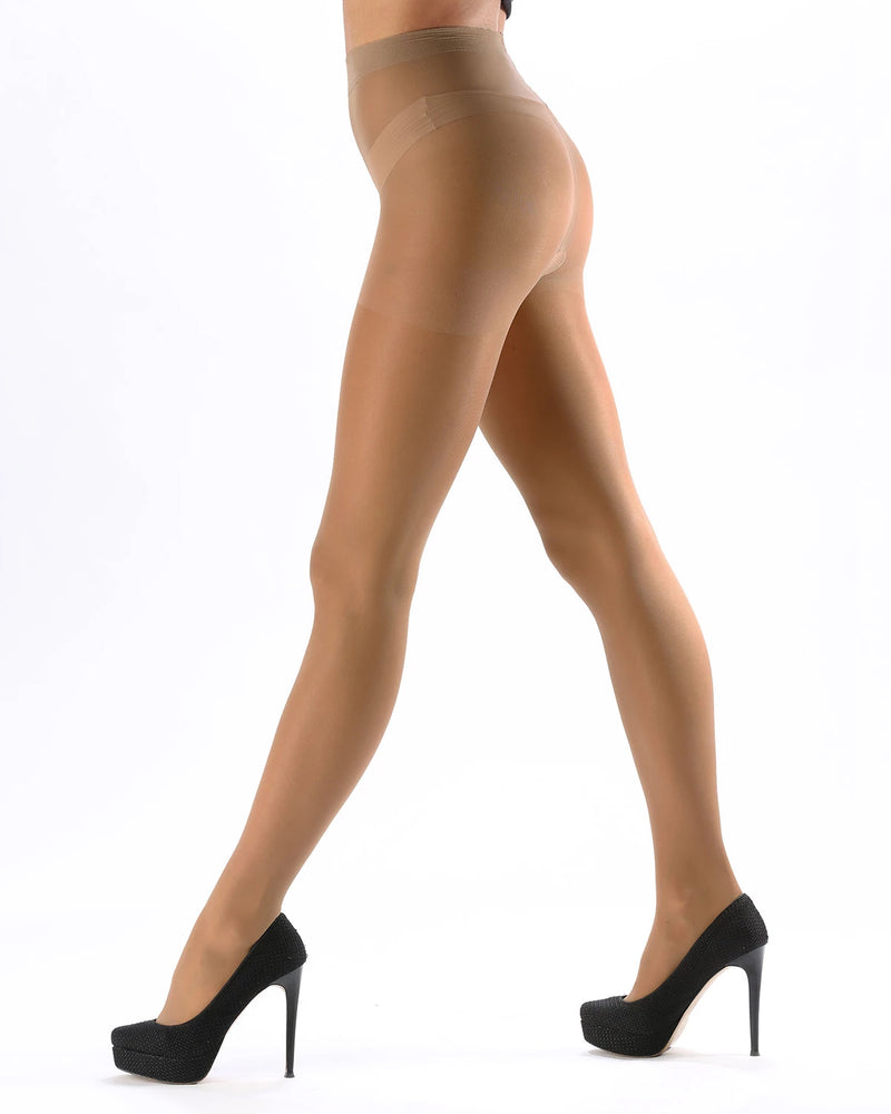 Silk Caresse Sheer Control Top Pantyhose | Women's Tights by Levante -7