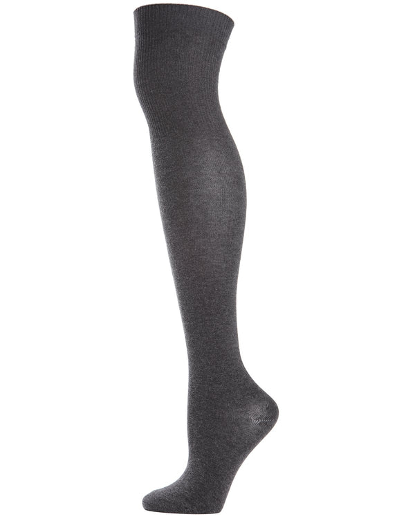 Girls Over The Knee Flat Knit Uniform Socks