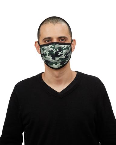Camo Fashion Face Covering | Coronavirus Face Masks by MeMoi | UMH06772 -1