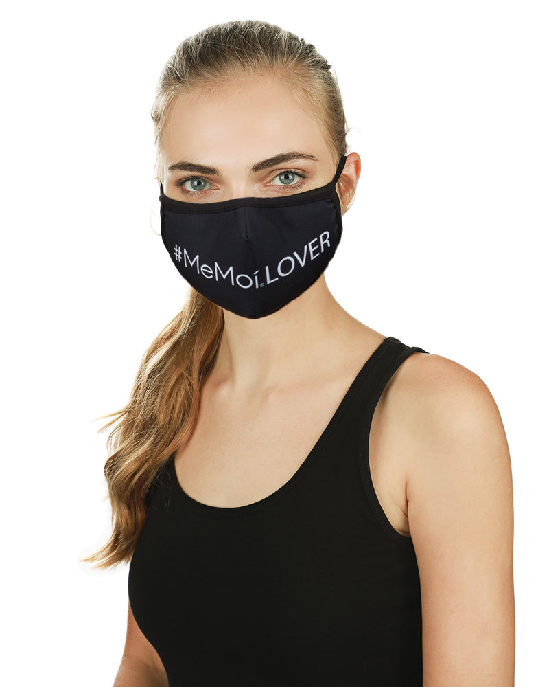 #MeMoiLover Fashion Face Mask with 5-Layer Filter Inserts