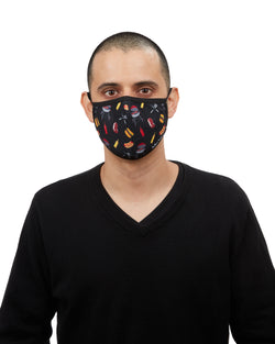 BBQ Grilling Fashion Face Covering | Coronavirus Face Masks by MeMoi | UMH06796 -1