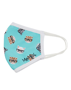 Studious Cats Fashion Face Covering Mask | Coronavirus Face Masks by MeMoi | UMH06798 -3