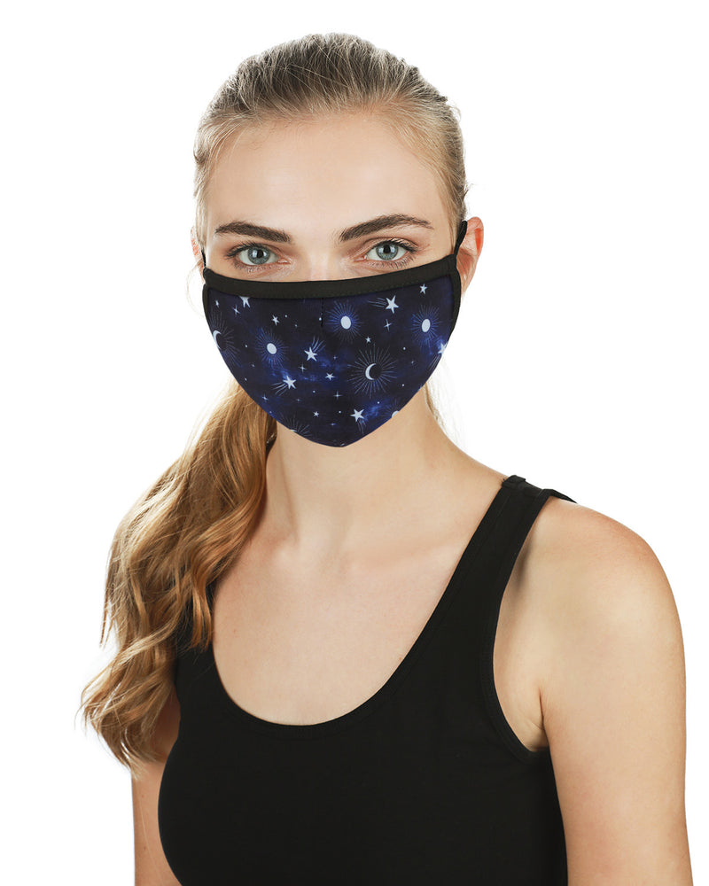 MeMoi Night Sky Unisex Face Covering