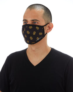 Dollar Signs Unisex Face Covering