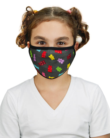 Gummy Bears Kids Unisex Face Covering