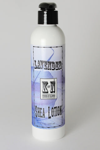 Lotion, Lavender Shea Silk,8.5 oz