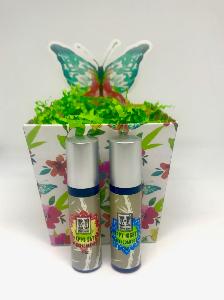 Be Happy Gift Set, Happy Day & Happy Night Roller Ball, 10 ml each