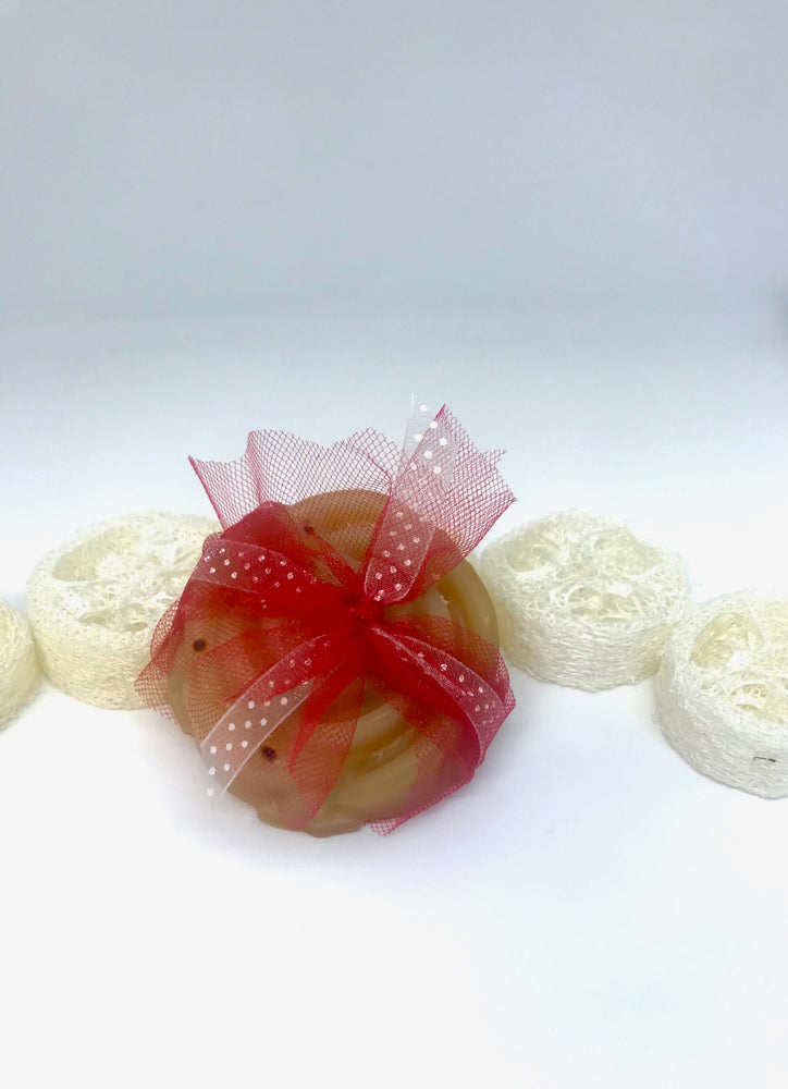 Peppermint, Olive and Hemp Loofah
