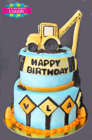 Construction Worker Cake