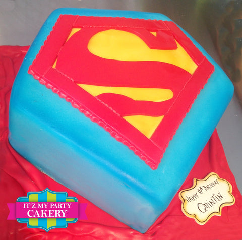 Superman Cake Milwaukee