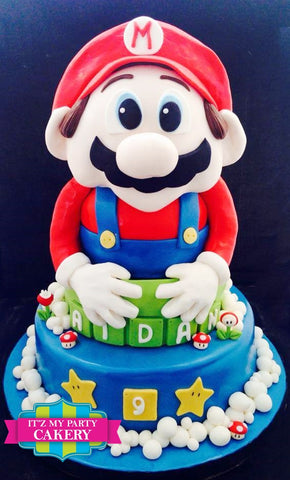 Mario Bros Cake Milwaukee