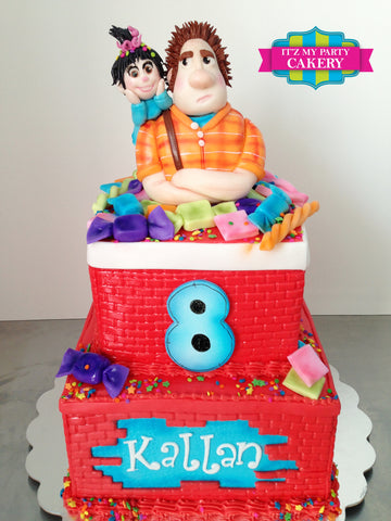 Wreck It Ralph Cake Milwaukee